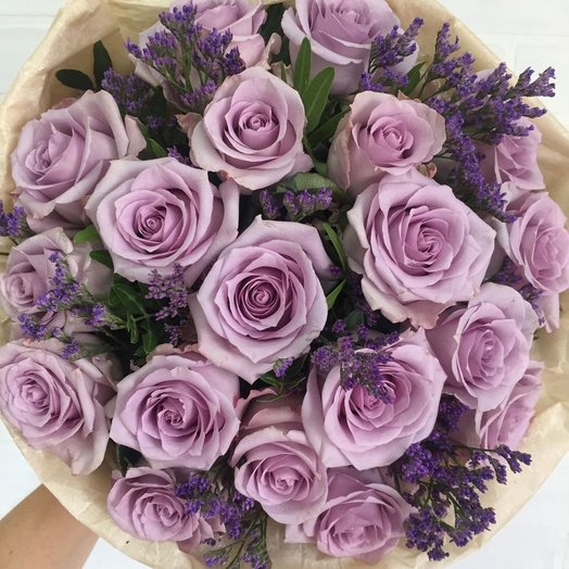 Фиолетовая роза: букеты цветов на заказ Flowwow