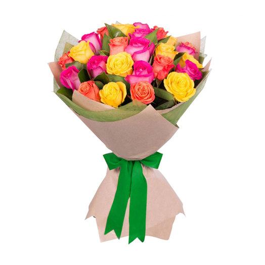 Букет из розы микс: букеты цветов на заказ Flowwow