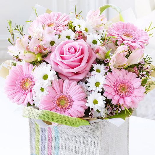 """Букет """"Настроение нежности"""". Код 180054: букеты цветов на заказ Flowwow"""