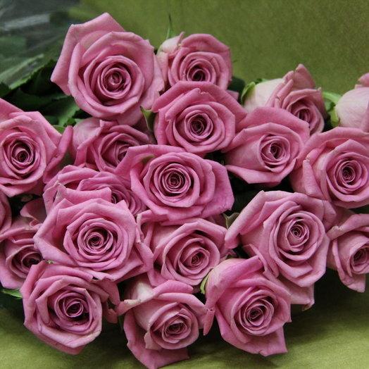 Лиловая роза: букеты цветов на заказ Flowwow