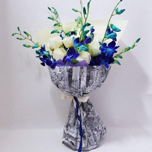Городские розы: букеты цветов на заказ Flowwow
