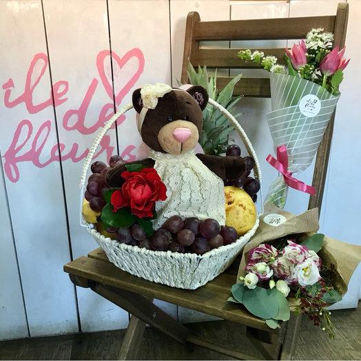 Маленькой леди!: букеты цветов на заказ Flowwow
