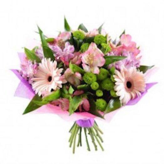 Нежное розовое облако: букеты цветов на заказ Flowwow