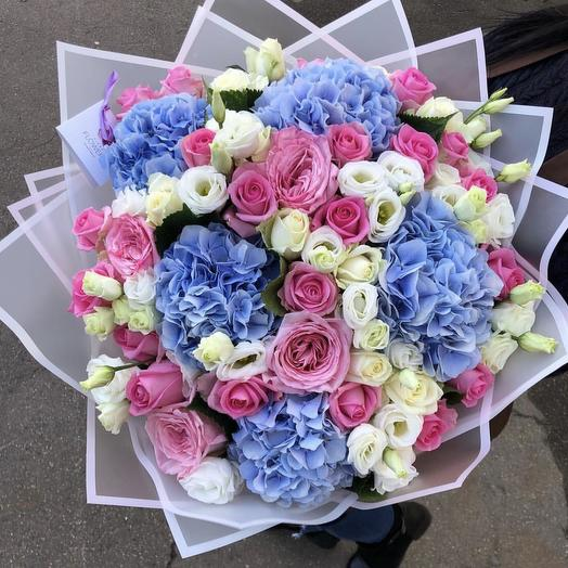 Букет «Лазурный закат»: букеты цветов на заказ Flowwow