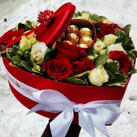 Valentine s day: букеты цветов на заказ Flowwow