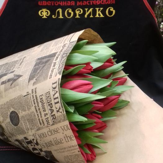 Тюльпан25: букеты цветов на заказ Flowwow