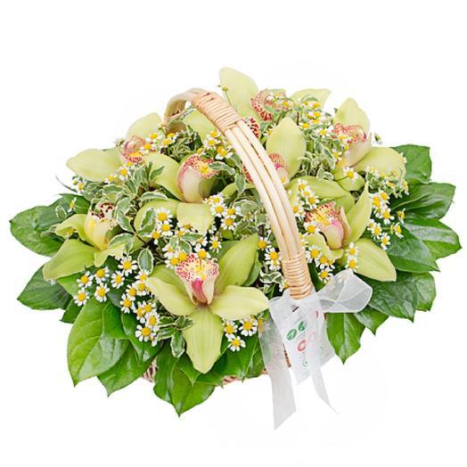 Летний Мохито: букеты цветов на заказ Flowwow