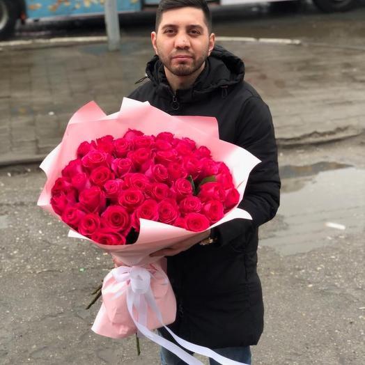 45 роза: букеты цветов на заказ Flowwow