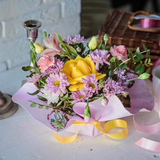 Композиция «Приятные воспоминания»: букеты цветов на заказ Flowwow