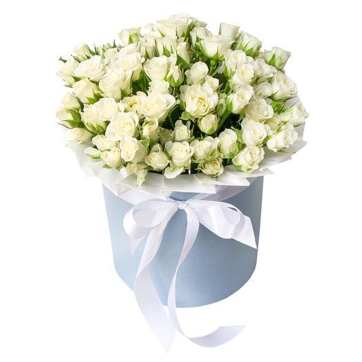 Шляпная с кустовыми розами