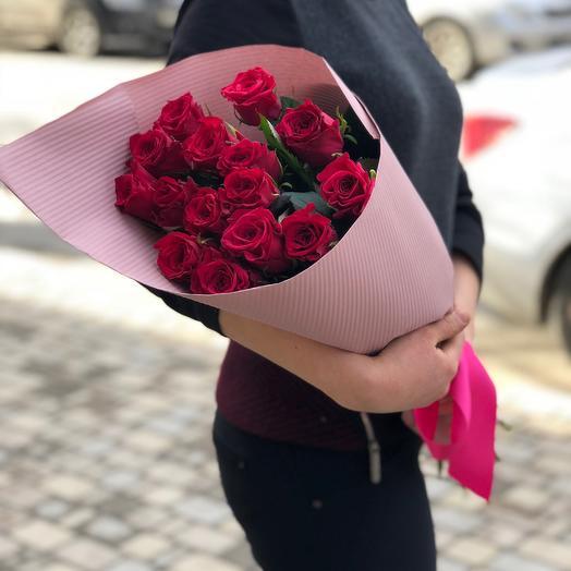 Конверт с розой Пур паур