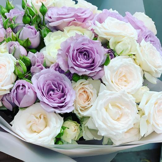 Кварц: букеты цветов на заказ Flowwow