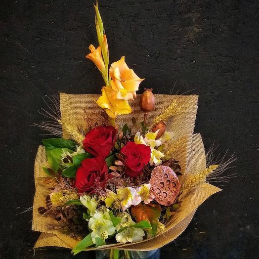 Букет осень: букеты цветов на заказ Flowwow