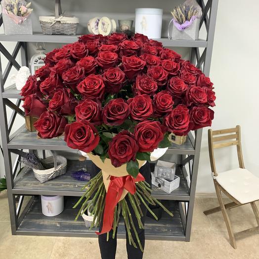 Букет голландских роз Эксплоер: букеты цветов на заказ Flowwow