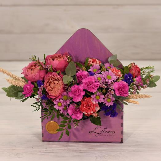 Письмо из Аргентины: букеты цветов на заказ Flowwow