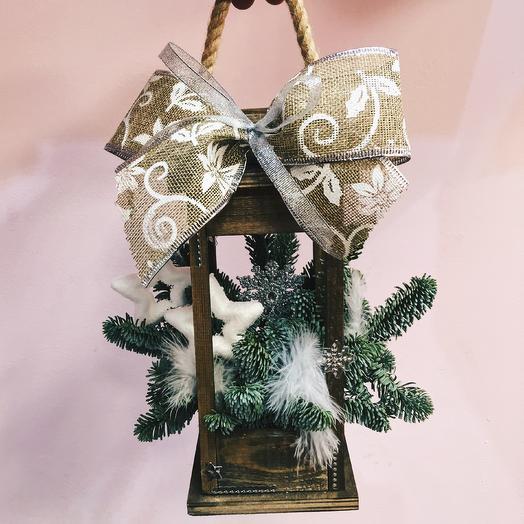 Рождественский фонарик