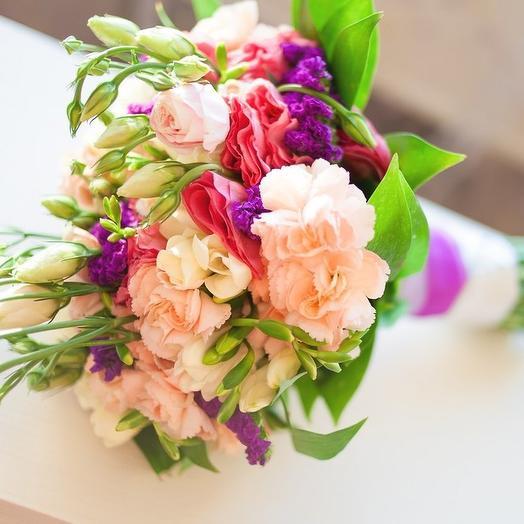"""Свадебный букет """"Нимфа"""": букеты цветов на заказ Flowwow"""