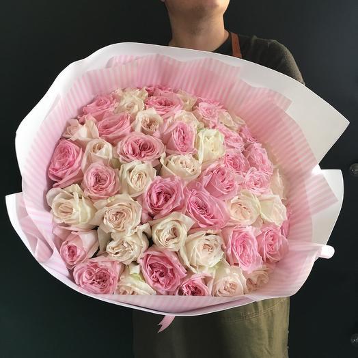 55 парфюмированых роз