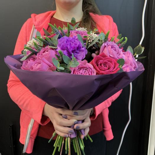 Сиреневая мечта: букеты цветов на заказ Flowwow