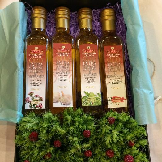 Набор из оливковых масел: букеты цветов на заказ Flowwow