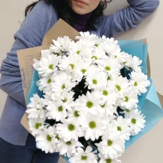 Полянка ромашек: букеты цветов на заказ Flowwow