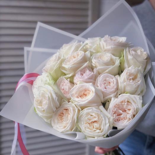 Аромат французской розы: букеты цветов на заказ Flowwow