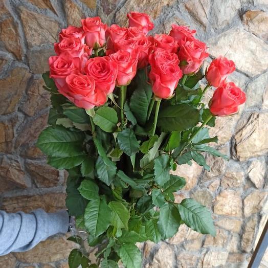 Роза Россия 70 см: букеты цветов на заказ Flowwow
