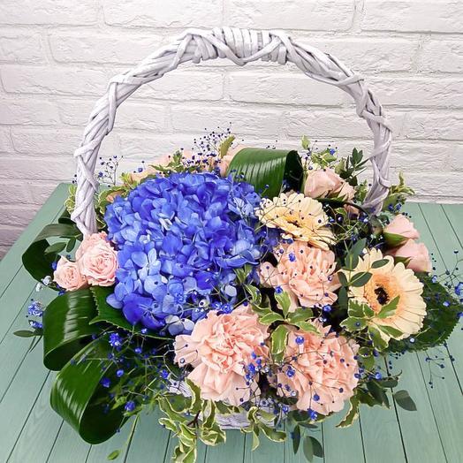 Корзина Цветущий садик