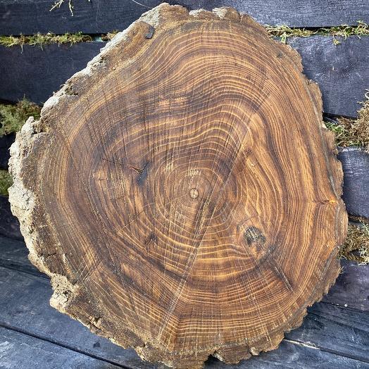 Подставка деревянная. Карагач