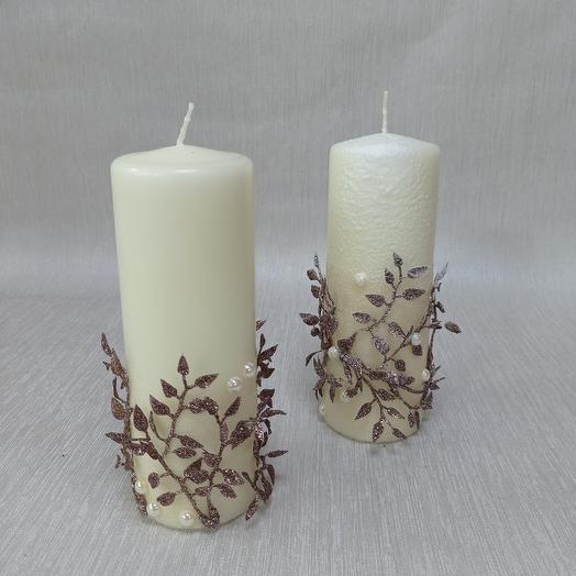 Снежные свечи