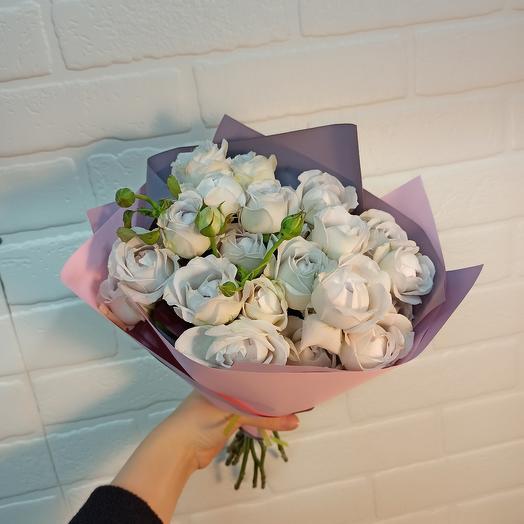 Соло букет с розами