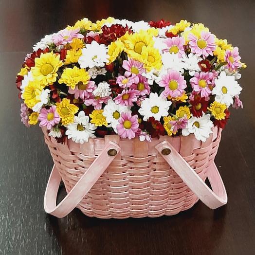 Корзиночка с цветами
