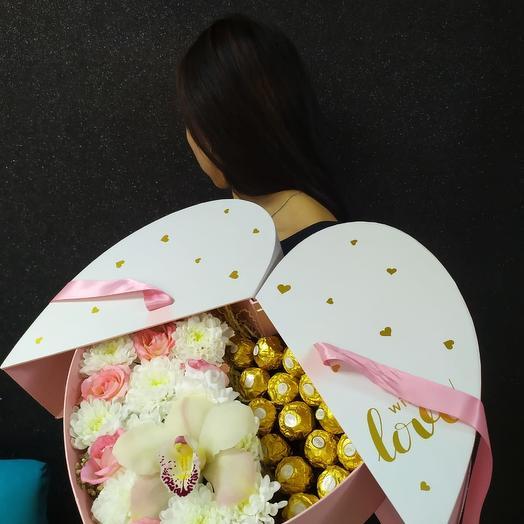 Валентинка с Ferrero Rocher