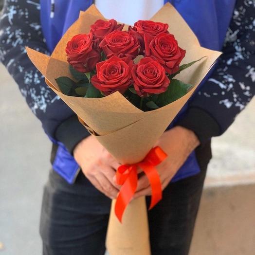 7 роз в Крафт