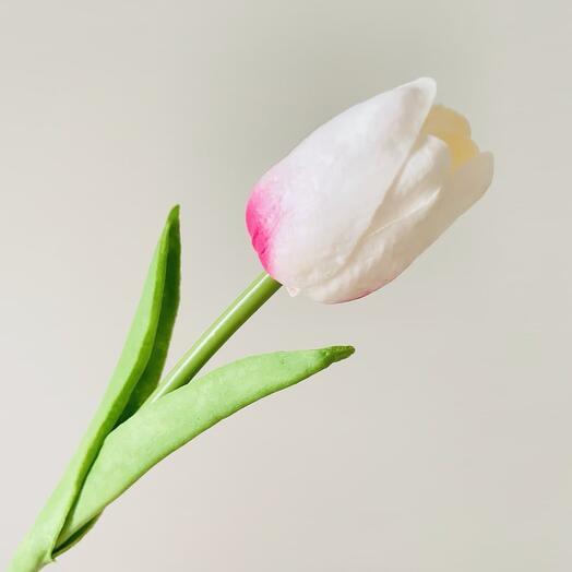 Розовый тюльпан (искусственный)
