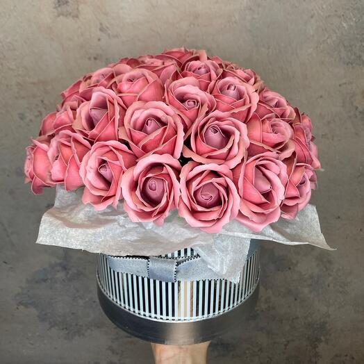 Роскошные мыльные розы
