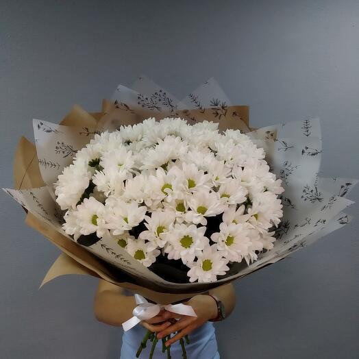 Букет ромашковой хризантемы 🥰