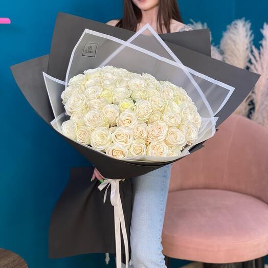 Giant of white roses