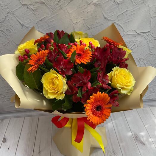 Цветы любимой девкшке