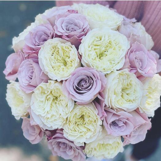 Букет невесты Luxury Flowers Жемчужный