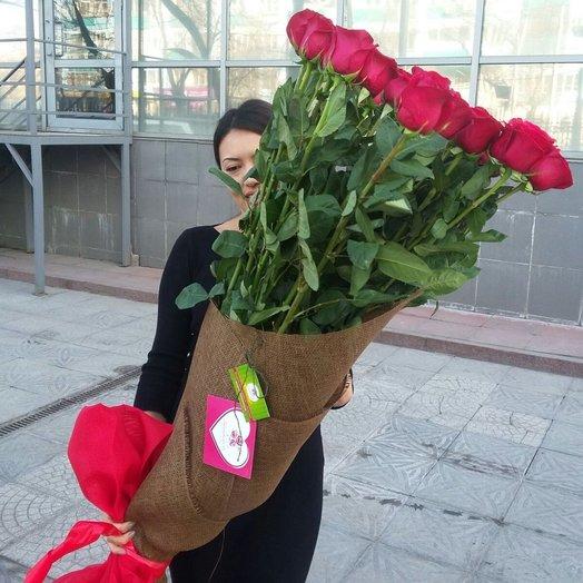 Высокие голландские розы 150 см