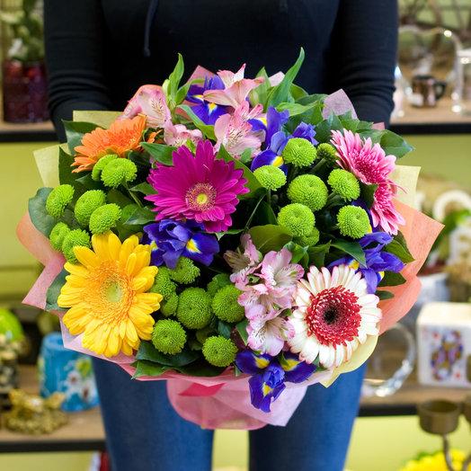 Букет цветов Роман с летом: букеты цветов на заказ Flowwow