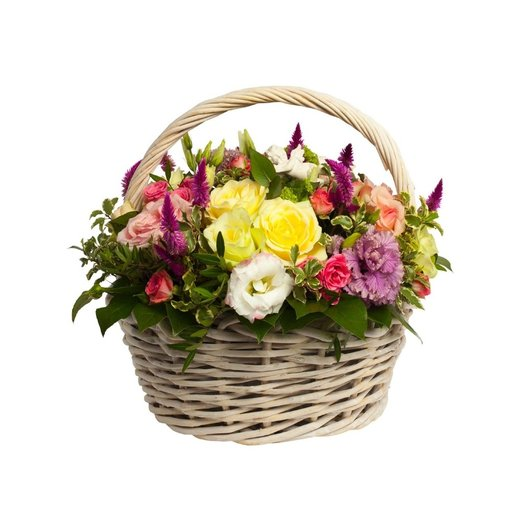 "Корзина""Ас""сорти: букеты цветов на заказ Flowwow"