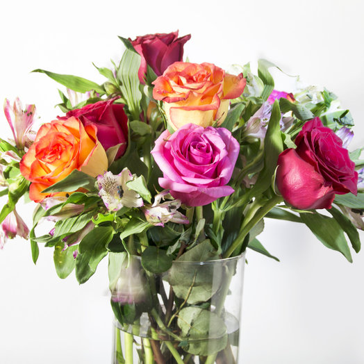 Яркий фреш: букеты цветов на заказ Flowwow