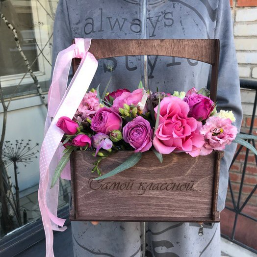 "Коробочка ""Самой красивой"": букеты цветов на заказ Flowwow"