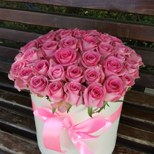 Розовое Счастье.: букеты цветов на заказ Flowwow