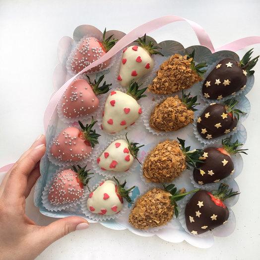 Набор 4 шоколада: букеты цветов на заказ Flowwow