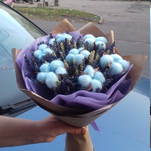 Голубые облака: букеты цветов на заказ Flowwow