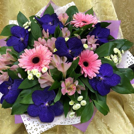 Букет «Аида»: букеты цветов на заказ Flowwow