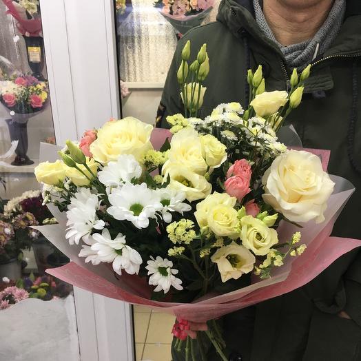 Ля крем: букеты цветов на заказ Flowwow